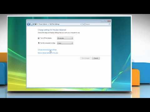 Windows® Vista: Avoid password request after sleep
