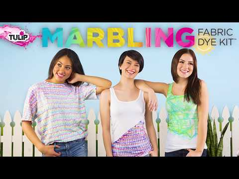 3 Easy Techniques for Shirt Marbling with Tulip Kits