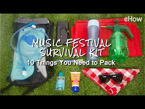 Music Festival Survival Kit: 10 Things You Need to Pack