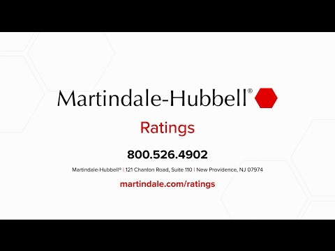 Martindale-Hubbell Ratings: Peer and Client Review Ratings