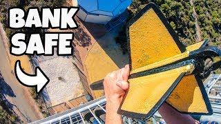 GIANT DART Vs. BANK SAFE from 45m