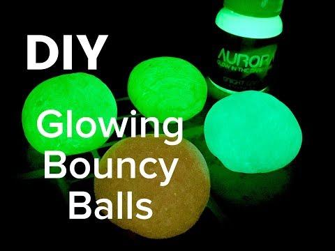 DIY How to Make Glowing Bouncy Balls