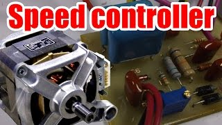 Easy circuit! How to make AC Motor Speed Controller (Part 1)