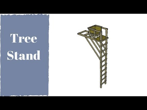 Free Tree Ladder Stand Plans