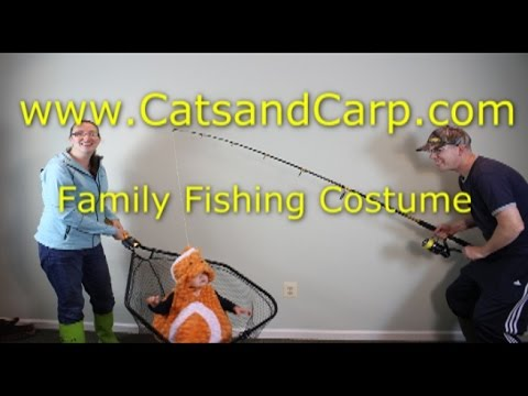 Cutest fish costume EVER! Family Halloween costume