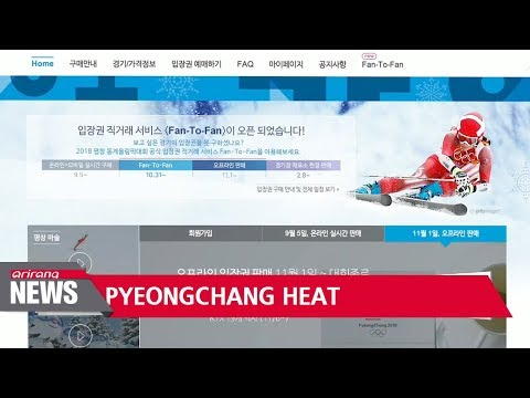 Ticket sales for 2018 PyeongChang Winter Olympics top 50 percent