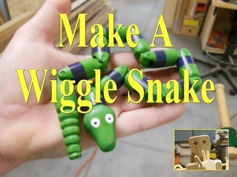 Making A Wiggle Snake Toy!