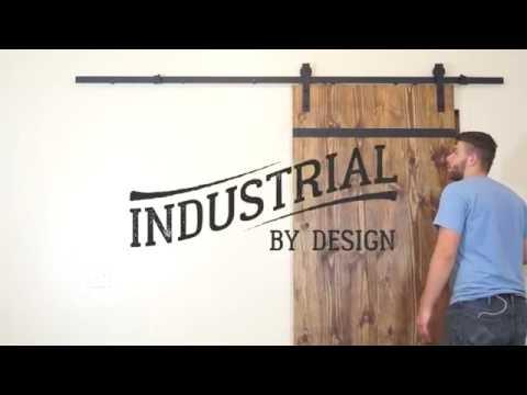 Step-By-Step Barn Door Hardware Installation - Industrial By Design