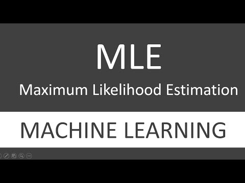 What is MLE (Maximum Likelihood Estimation) in Machine Learning