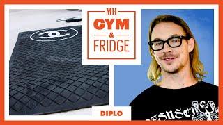 Diplo Shows His Home Gym & Fridge   Gym & Fridge   Men's Health