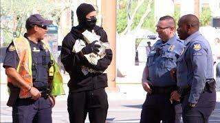 Bank Robber Prank