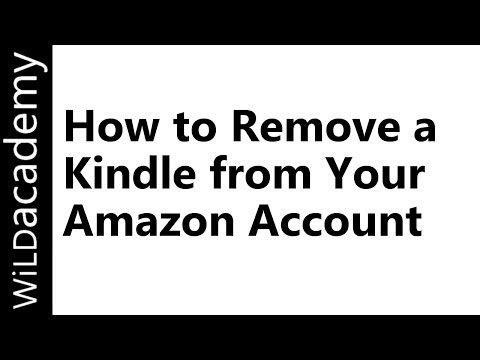 How to Remove a Kindle from Your Amazon Account