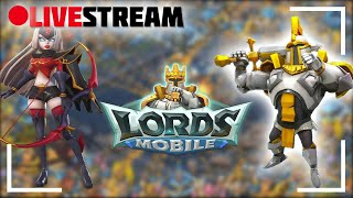 Lords Mobile KvK live - Wie lange dauert es bis ich Zero bin? Wettet jetzt!