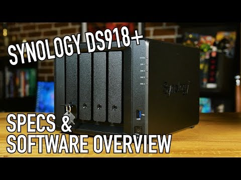 Synology DS918+ NAS & Software Overview | Part 1: A New Hope