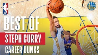 Best Of Stephen Curry's Career Dunks