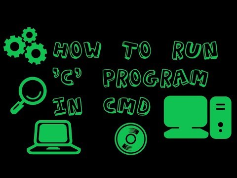 Run C program in command prompt || 100% working || easy steps || Upcoming Youtubers