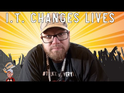 How Can I.T. Change Lives - Peoples Lives are at Risk