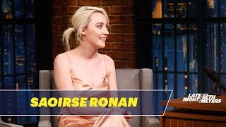 Saoirse Ronan Reveals Her Favorite SNL Sketches