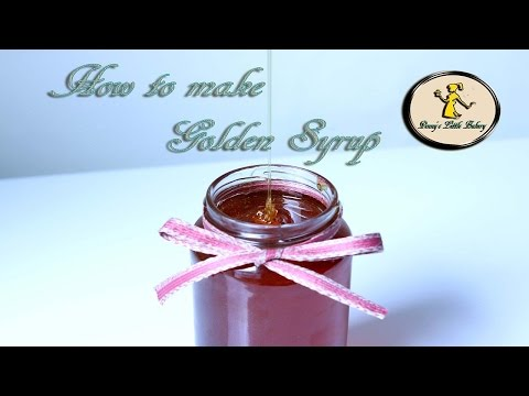 How to make Golden syrup, recipe and tutorial