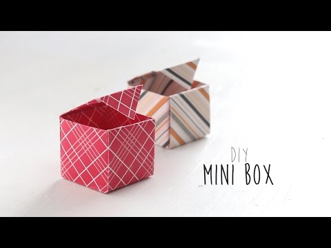 DIY: Mini box