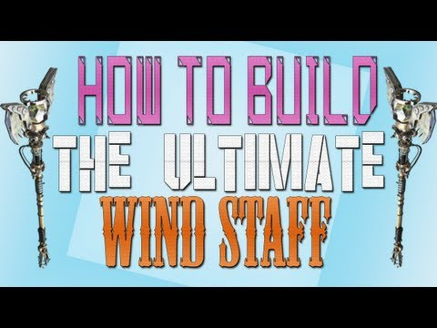 ORIGINS l Ultimate Wind Staff Tutorial - How To Build Ultimate Wind Staff (Black Ops 2 Zombies)