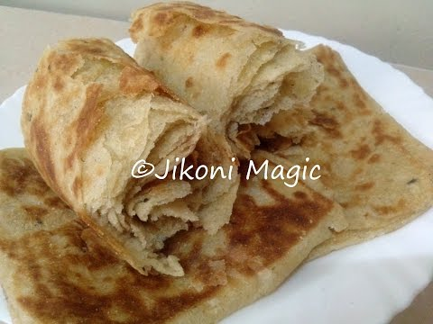 How to Make Soft Chapatis Full of Layers (Moroccan Msemen Inspired) - Jikoni Magic