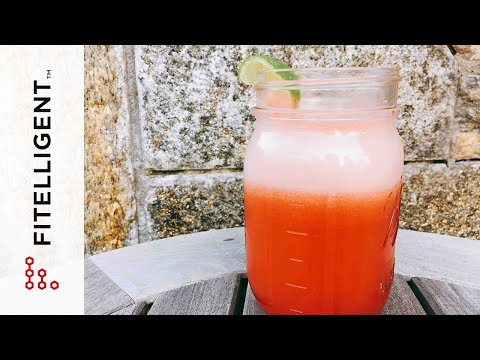 [Fitelligent] How to Make Watermelon Juice Without a Juicer