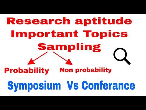 Research Aptitude Important Topics CBSE UGC NET