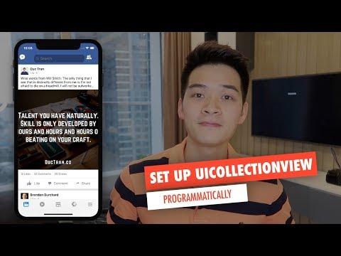 FACEBOOK NEWSFEED PT 1: Set up UICollectionView Programmatically
