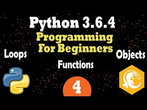 Python 3 Loops - Functions - Class Objects - Fibonacci Sequence |  Programming Tutorial