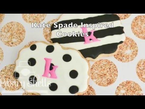 Kate Spade Cookies Tutorial