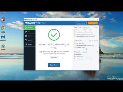 How To Use Malwarebyte 3.0 Free Version