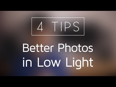 4 Tips for Better Photos in Low Light