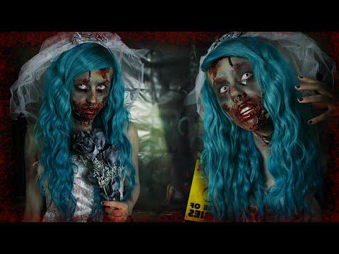 ZOMBIE BRIDE ☠ Halloween Makeup Tutorial