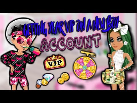 GETTING YEAR VIP ON A NEW BOY ACC!!! MSP