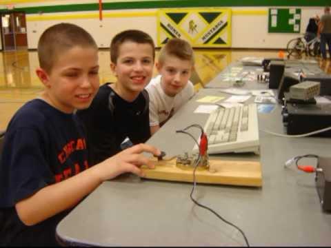 Students Learn Radio Communications