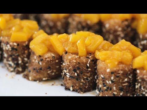 Mango Suman Sushi Recipe | Yummy Ph