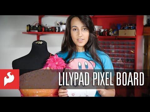 SparkFun LilyPad Pixel Board