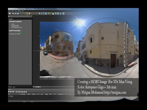 Creating a HDRI Image  For 3Ds Max