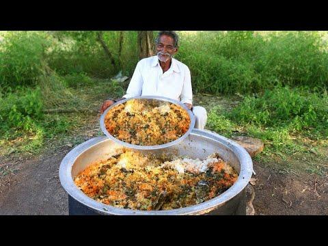 Vegetable Biryani Recipe | Veg Biryani Cooking by our grandpa for  little Children