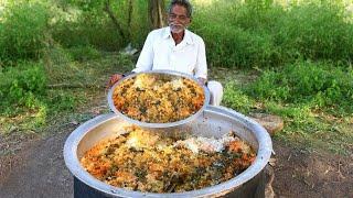 Vegetable Biryani Recipe   Veg Biryani Cooking by our grandpa for  little Children