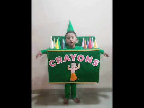 Fancy dress competition-Box of Crayons-Nursery