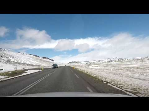 Driving in Iceland - road conditions - American perspective
