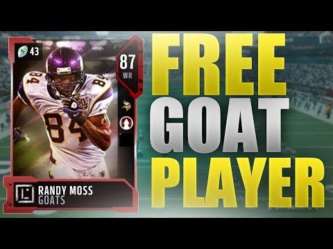HOW TO GET A FREE GOAT PLAYER | Madden 18 Ultimate Team Goat Player Overview