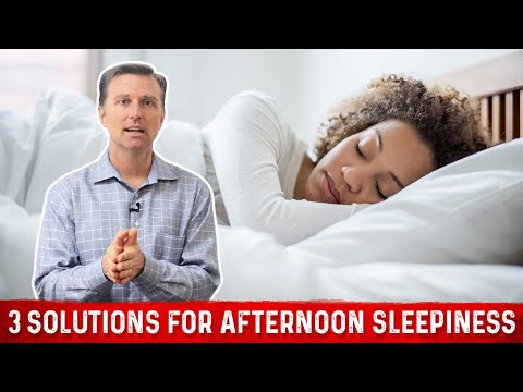 3 Solutions for Afternoon Sleepiness