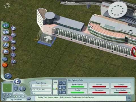 Sim City 4 Tutorial-Japanese Terminals