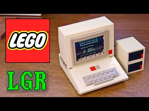LGR - Building a LEGO Apple 2 Computer!