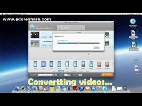 How do I convert YouTube .flv to .mov on Mac