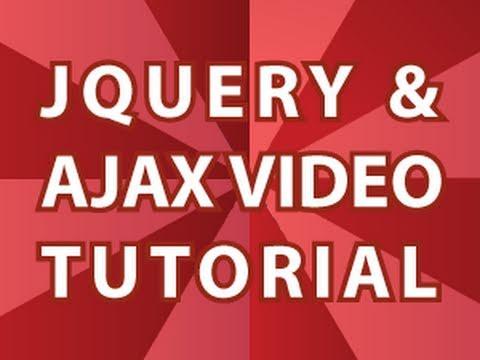 JQuery Video Tutorial
