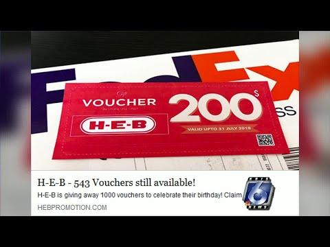 Fact Check: H-E-B Voucher